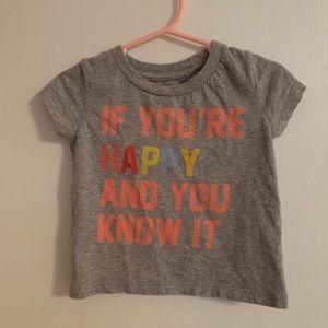Gymboree cute T-shirt size 12-18m